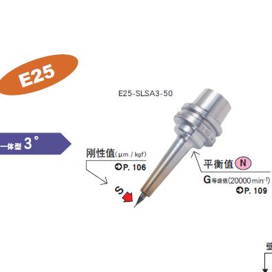 E25一体式热装刀柄
